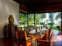 Villa The Anandita, Outdoor dining