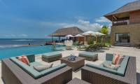 6 Bedrooms Villa Bayu Gita - Beach Front in Ketewel