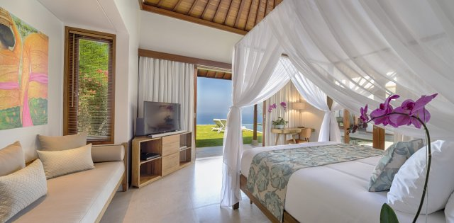 Villa Sol y Mar, Master Bedroom